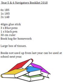 year 5 & 6 booklist