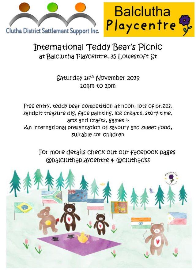 Teddy Bear Picnic Poster v3